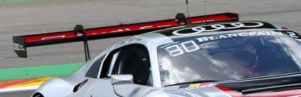 Audi R8 LMS GT3 Rear wing