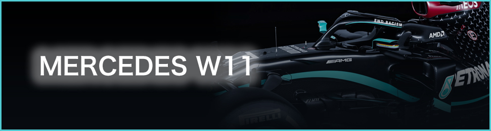 TARGA models Mercedes F1 W11 EQ Performance