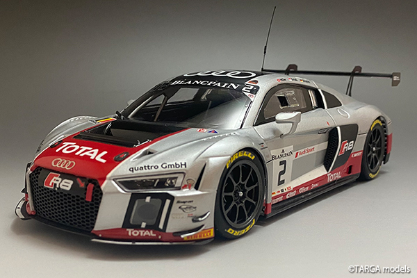 Audi R8 LMS GT3 Finish!