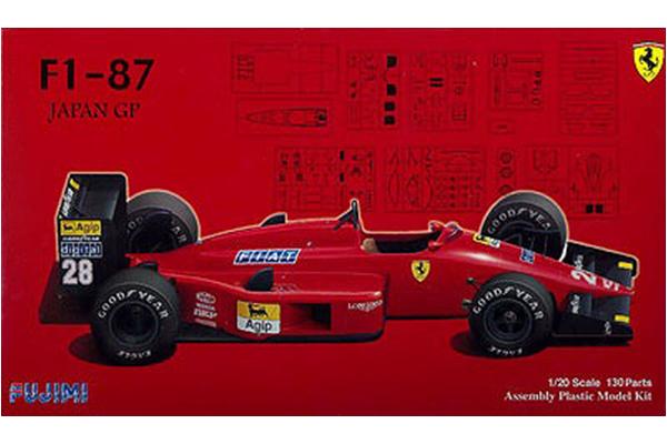 Ferrari F1-87 by FUJIMI