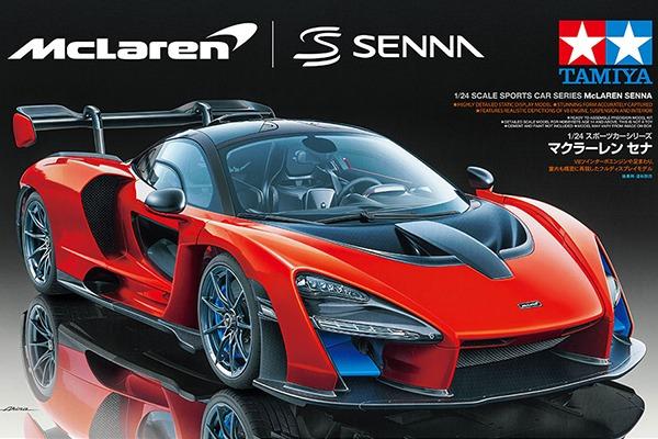 McLaren SENNA by TAMIYA