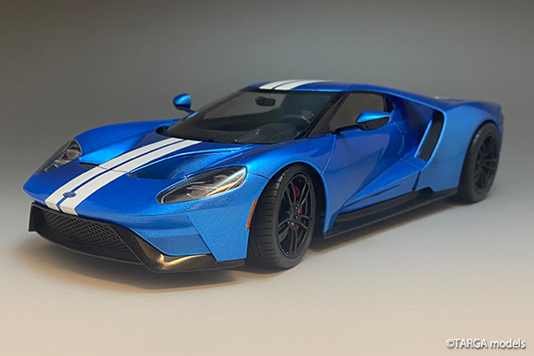 Ford GT with White Line by TARGA models