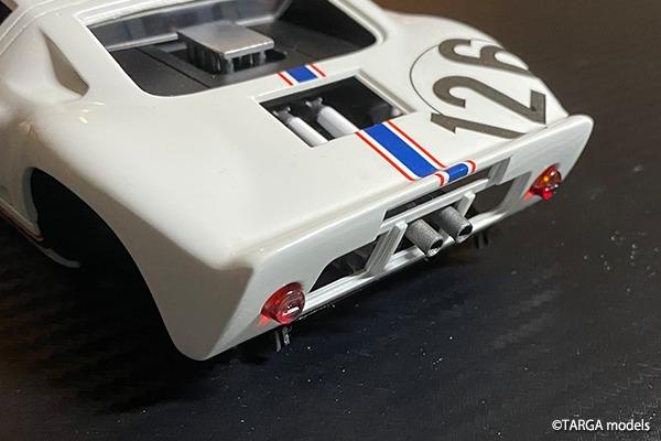 Ford GT40 Targa Florio 1967 #126 TARGA models