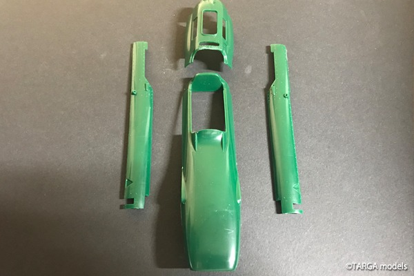 Lotus 25 TARGA models
